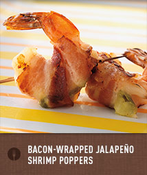 Bacon-Wrapped Jalapeño Shrimp Poppers